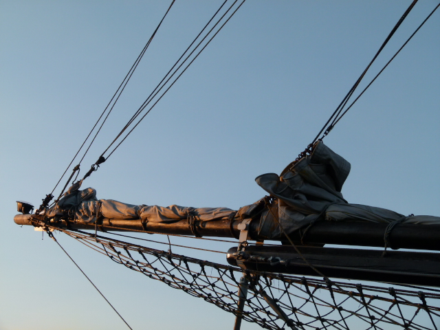 a picture of a bowsprit