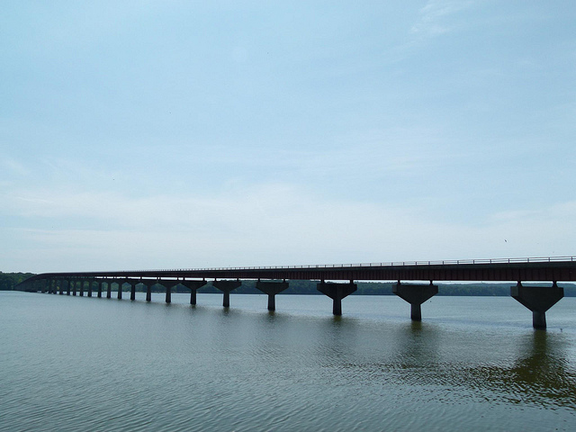 bridge over the Tennessee