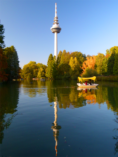 TV tower in Mannheim