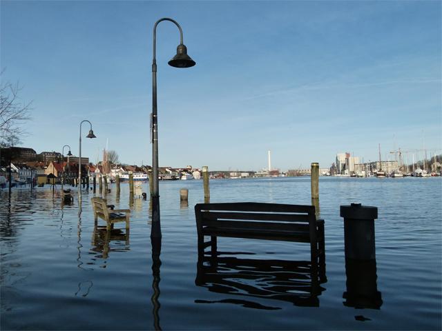 flooded flensburg