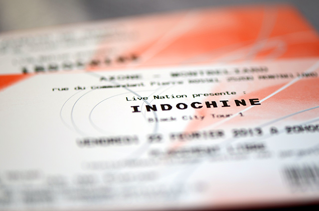 Indochine tickets!