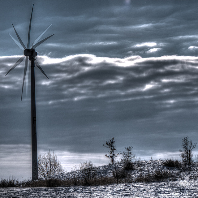 Wind energy, times three