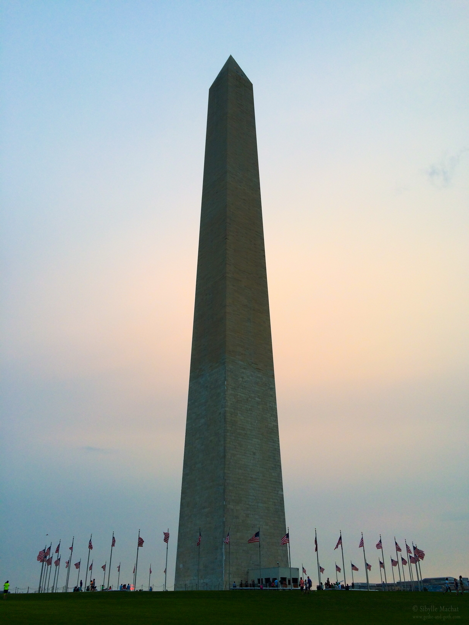 Evening at the Washington Monument