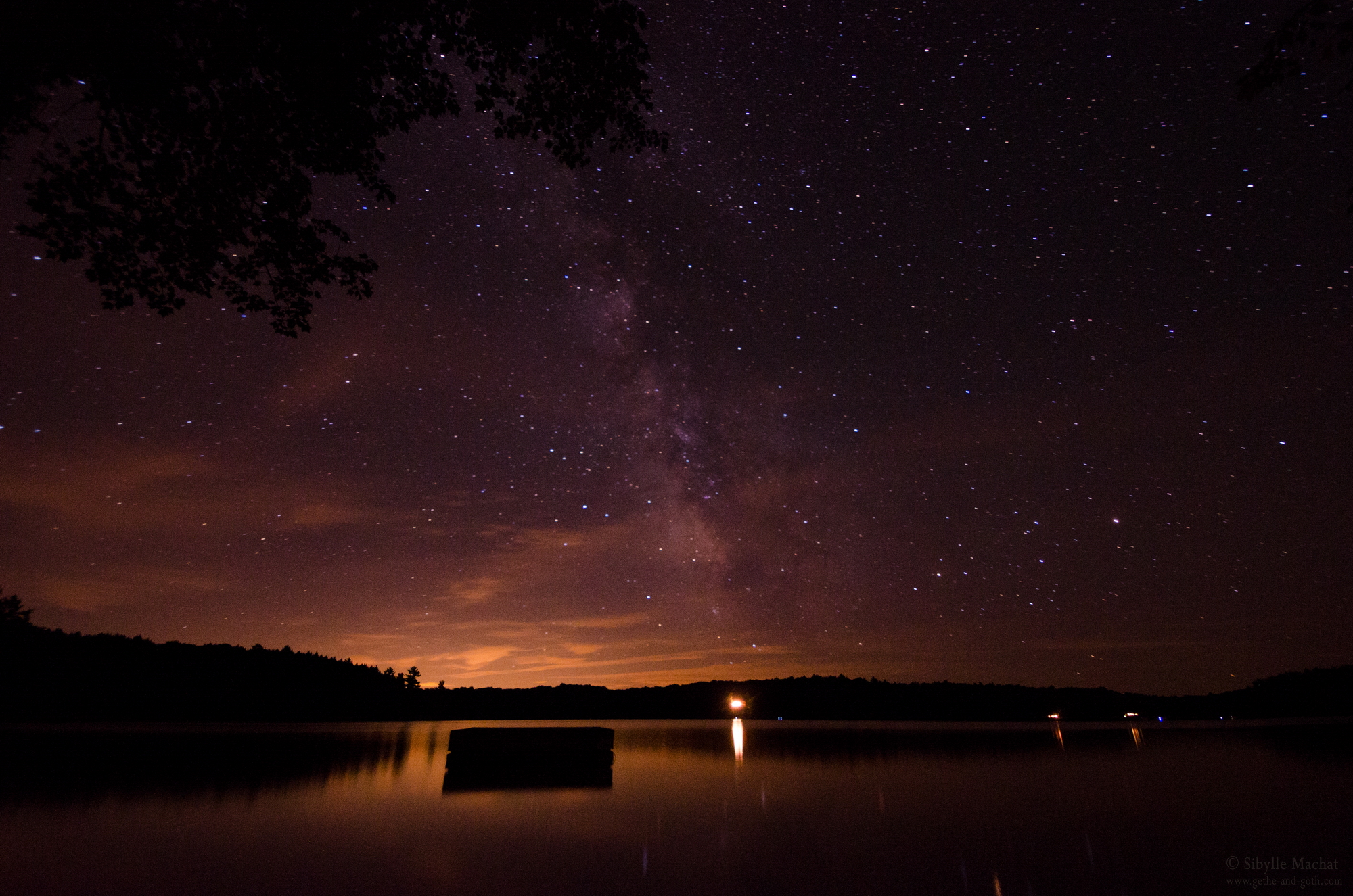 Only the Silence and the Water and the Stars