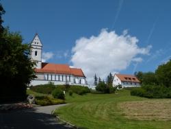 The Pilgrimage church St John the Baptist on the Bussen