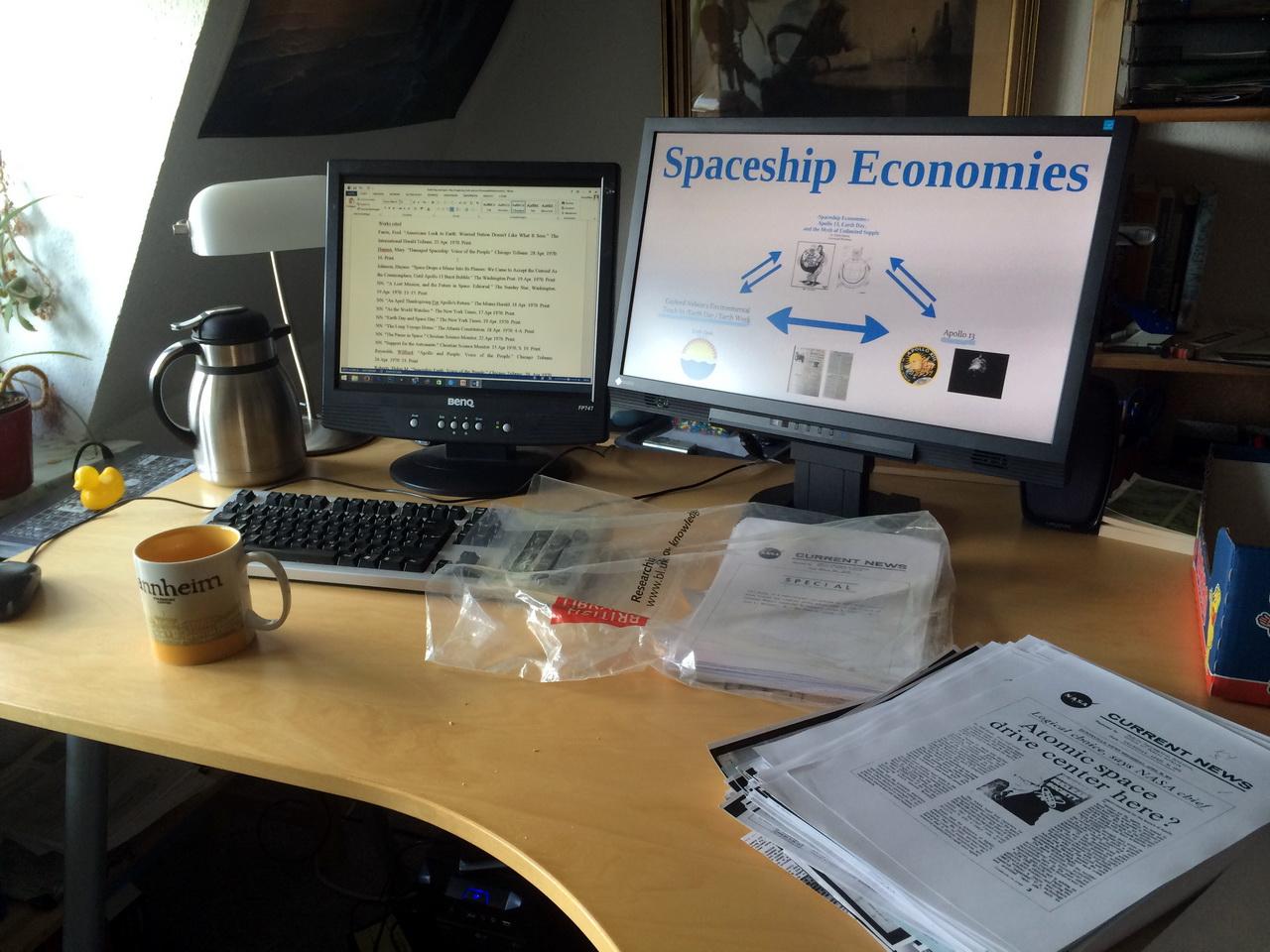 Spaceship Economies